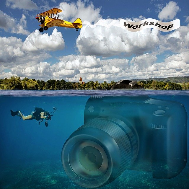 Diving and photography